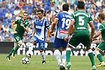 Jurado in action during La Liga Game between RCD Espanyol agaisnt Leganes at RCDE Stadium