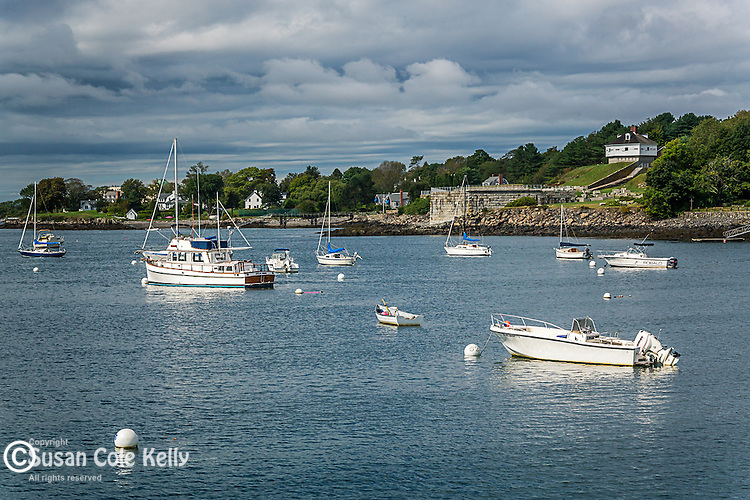 Kittery Point in Kittery, Maine, USA