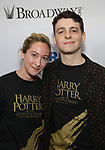 Jessie Fisher and Anthony Boyle attends the United Airlines Presents: #StarsInTheAlley Produced By The Broadway League on June 1, 2018 in New York City.