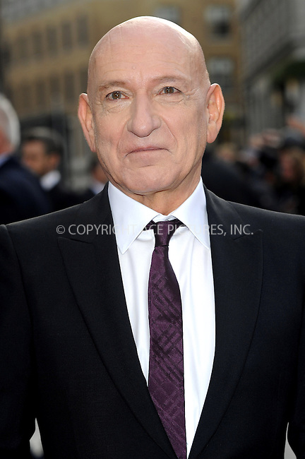 WWW.ACEPIXS.COM....US Sales Only....April 18 2013, London....Ben Kingsley at the premiere of 'Iron Man 3' held at the Odeon Leicester Square on April 18 2013 in London ....By Line: Famous/ACE Pictures......ACE Pictures, Inc...tel: 646 769 0430..Email: info@acepixs.com..www.acepixs.com