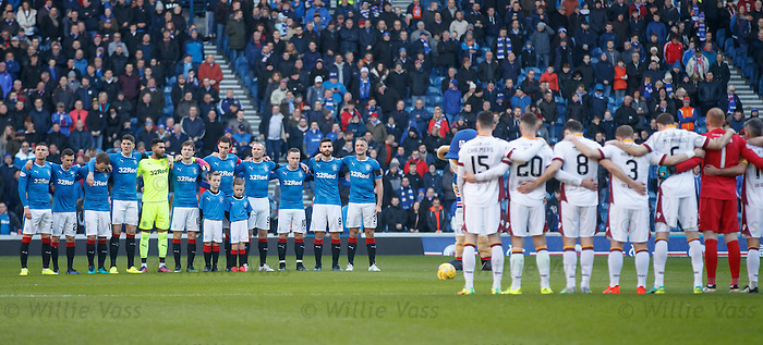 Minutes silence to remember ex-Ranger Johnny Little