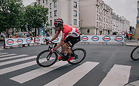 Jurgen Roelandts (BEL/Lotto-Soudal) in the streets of Antwerp<br /> <br /> 2017 National Championships Belgium - Elite Men - Road Race (NC)<br /> 1 Day Race: Antwerpen > Antwerpen (233km)