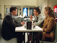 Mystic River (2003)<br /> Kevin Bacon, Sean Penn &amp; Laura Linney<br /> *Filmstill - Editorial Use Only*<br /> CAP/KFS<br /> Image supplied by Capital Pictures