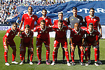 Sevilla FC's team photo with Steven N'Zonzi, Nico Pareja, Samir Nasri, Sergio Rico, Vicente Iborra, Wissam Ben Yedder, Luciano Vietto, Franco Vazquez, Vitolo, Mariano Ferreira and Sergio Escudero during La Liga match. October 15,2016. (ALTERPHOTOS/Acero)