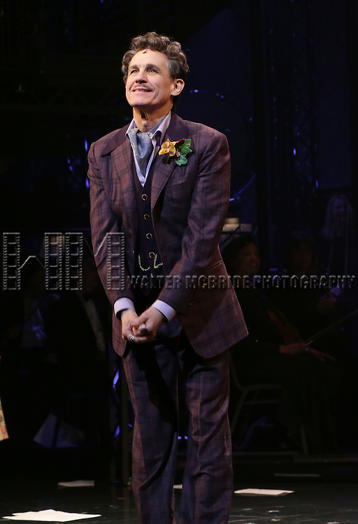 Jim Walton during the Opening Night Curtain Call bows for Andrew Lloyd Webber's 'Sunset Boulevard' at the Palace Theatre on February 9, 2017 in New York City.