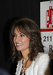"""All My Children Susan Lucci signs her new book """"All My Life"""" - a memoir - on March 29, 2011 at Bookends, Ridgewood, New Jersey for her fans. She held a Q & A before signing. (Photo by Sue Coflin/Max Photos)"""
