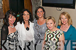 Birthday.--------.After dining in O Donnells Bar/restaurant mounthawk Tralee,girls from Kerry Local Radio went to Roundies bar Market St Tralee to relax for the rest of the evening for Jacinta Lawlors 30th birthday(centre) with her were L-R Mary Murrey,Tanya Moriarty,Marie Sweeney and Mary O Halloran.   Copyright Kerry's Eye 2008