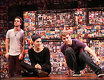 Michael Tacconi, Taylor Trensch & Jason Hite performing in the 'BARE' A first look preview at the New World Stages in New York City on 11/12/2012