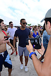 MIAMI BEACH, FL - FEBRUARY 20: John Legend participates in Sports Illustrated Swimsuit 2014 Beach Volleyball:Models & Celebrity Chefs on February 20, 2014 in Miami Beach, Florida. (Photo by Johnny Louis/jlnphotography.com)