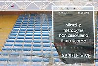 """settore tifosi milan vuoto<br /> Genova 14/09/2008 Stadio """"Ferraris"""" <br /> Calcio Serie A Tim 2008-2009 <br /> Genoa-Milan<br /> Foto Davide Elias Insidefoto"""