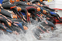 31 AUG 2007 - HAMBURG, GER - Junior Mens World Triathlon Championships. (PHOTO (C) NIGEL FARROW)