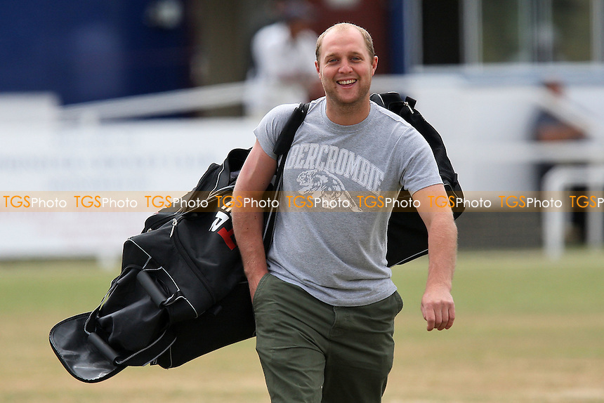 T Wyatt of Upminster heads off to a match in Shenfield - Upminster CC vs Ilford CC - Essex Cricket League - 17/07/10 - MANDATORY CREDIT: Gavin Ellis/TGSPHOTO - Self billing applies where appropriate - Tel: 0845 094 6026