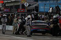 #46 Team TGM Mercedes-AMG, GS: Owen Trinkler, Hugh Plumb, Pit Stop