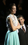 "Laura Osnes and Tony Yazbeck during the Manhattan Concert Productions 25th Anniversary concert performance of ""Crazy for You"" at David Geffen Hall, Lincoln Center on February 19, 2017 in New York City."