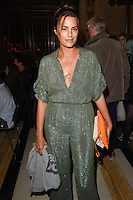 Yasmin Le Bon<br /> at the Pam Hogg catwalk show as part of London Fashion Week SS17, Freemason's Hall, Covent Garden, London<br /> <br /> <br /> &copy;Ash Knotek  D3155  16/09/2016