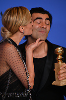Diane Kruger & Fatih Akin at the 75th Annual Golden Globe Awards at the Beverly Hilton Hotel, Beverly Hills, USA 07 Jan. 2018<br /> Picture: Paul Smith/Featureflash/SilverHub 0208 004 5359 sales@silverhubmedia.com