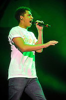 Birmingham, England - Rizzle Kicks perform at the Girlguiding UK Big Gig at LG Arena, Birmingham, England -  March 31st 2012..Photos by Ross Stratton.