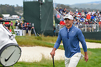 Brooks Koepka (USA) heads for 9 during round 1 of the 2019 US Open, Pebble Beach Golf Links, Monterrey, California, USA. 6/13/2019.<br /> Picture: Golffile | Ken Murray<br /> <br /> All photo usage must carry mandatory copyright credit (© Golffile | Ken Murray)
