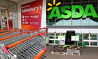 APR 28 Sainsbury's and Asda in talks over £10bn merger