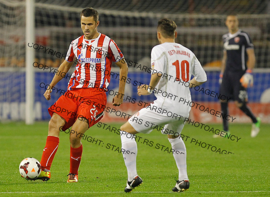 Fudbal Kup Srbije season 2013-2014<br /> Crvena Zvezda v Radnicki (Kragujevac)<br /> Goran Gogic (L)<br /> Beograd, 30.10.2013.<br /> foto: Srdjan Stevanovic/Starsportphoto &copy;