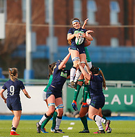 2nd February 2020; Energia Park, Dublin, Leinster, Ireland; International Womens Rugby, Six Nations, Ireland versus Scotland; Emma Wassell of Scotland collects the line out ball