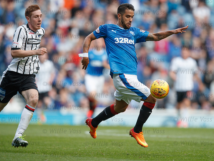 Daniel Candeias and Lewis Martin