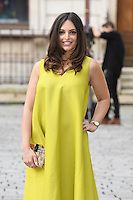 Olivia Wayne arrives for the VIP preview of the Royal Academy of Arts Summer Exhibition 2016