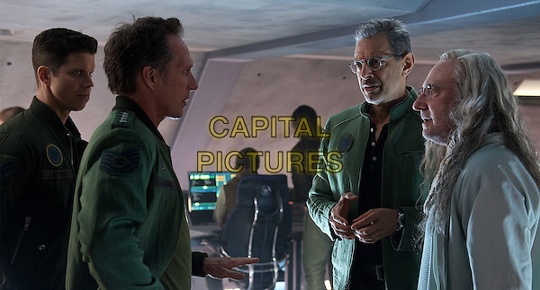 Independence Day: Resurgence (2016) <br /> William Fichtner, Jeff Goldblum &amp; Brent Spiner<br /> *Filmstill - Editorial Use Only*<br /> CAP/KFS<br /> Image supplied by Capital Pictures