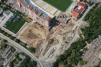 Construction at Folsom Field, University of Colorado at Boulder. Aug 21, 2014.  813052