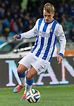 Real Sociedad's Antoine Griezman during La Copa match.February 12,2014. (ALTERPHOTOS/Mikel)