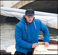 BNPS.co.uk (01202) 558833<br /> Picture: RachelAdams/BNPS<br /> <br /> Skipper Tim Freeman on his new yacht moored at Wareham Quay<br /> <br /> An inept sailor who was rescued five times before his holed boat was seized is causing more chaos at sea after he bought another yacht.<br /> <br /> The hapless mariner, called Tim Freeman, repeatedly ran his 21ft yacht aground off the Sussex coast earlier this month and even had to swim to shore on one occasion.<br /> <br /> The vessel developed a hole in the hull and was in danger of sinking before the Maritime and Coastguard Agency detained it and told Mr Freeman to gain sufficient training.