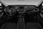 Stock photo of straight dashboard view of 2016 Chevrolet Malibu 1LT 4 Door Sedan Dashboard