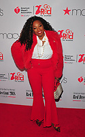 NEW YORK, NY - February 8: Star Jones at the Red Dress / Go Red For Women Fashion Show at Hammerstein Ballroom on February 8, 2018 in New York City Credit: John Palmer / MediaPunch