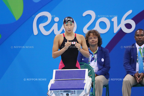 Rikako Ikee (JPN), <br /> AUGUST 7, 2016 - Swimming : <br /> Women's 100m Butterfly Final <br /> at Olympic Aquatics Stadium <br /> during the Rio 2016 Olympic Games in Rio de Janeiro, Brazil. <br /> (Photo by YUTAKA/AFLO SPORT)