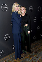 09 January 2019 - Hollywood, California - Judith Light, Christina Ricci. Lifetime Winter Movies Mixer held at The Andaz, Studio 4. Photo Credit: Birdie Thompson/AdMedia