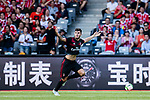 AC Milan Forward Patrick Cutrone celebrating his score during the 2017 International Champions Cup China  match between FC Bayern and AC Milan at Universiade Sports Centre Stadium on July 22, 2017 in Shenzhen, China. Photo by Marcio Rodrigo Machado / Power Sport Images