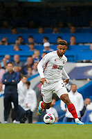 Lys Mousset of Sheffield United in action during the Premier League match between Chelsea and Sheff United at Stamford Bridge, London, England on 31 August 2019. Photo by Carlton Myrie / PRiME Media Images.