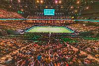 Rotterdam, The Netherlands, 17 Februari 2019, ABNAMRO World Tennis Tournament, Ahoy, Overall View, <br /> Photo: www.tennisimages.com/Henk Koster