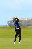 Barry Daly (Edmonstown) on the 12th during Round 3 of The South of Ireland in Lahinch Golf Club on Monday 28th July 2014.<br /> Picture:  Thos Caffrey / www.golffile.ie
