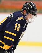 Yuri Bouharevich (Quinnipiac - 13) - The visiting Quinnipiac University Bobcats defeated the Harvard University Crimson 3-1 on Wednesday, December 8, 2010, at Bright Hockey Center in Cambridge, Massachusetts.