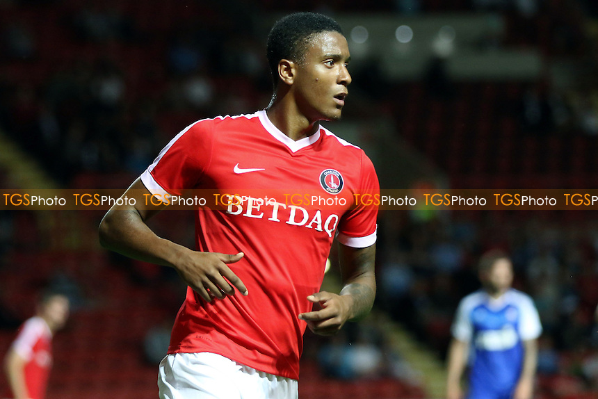 Ezri Konsa of Charlton Athletic during Charlton Athletic vs Ipswich Town, Friendly Match Football at The Valley on 26th July 2016