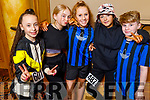 Zoe Coakley, Ally Ryan, Nicole Arefjeba, Briannah Arigan and Timmy Kerins attending the Irish Hip Hop Masters Dance Championships 2020 in the Brandon Hotel on Friday.