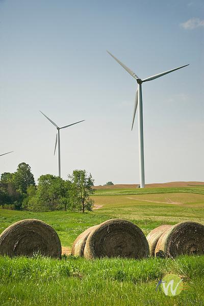 Wind turbines Missaukee County, MI..