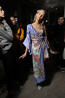 SEPT Peter Pilotto backstage -London Fashion Week