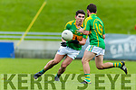 Dr Crokes in action against Conor O'Shea South Kerry in the Senior County Football Final in Austin Stack Park on Sunday