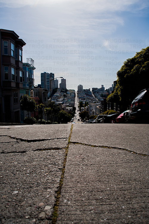 San Francisco streets in USA