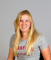 Anna Wietelmann with Stanford women's rowing ltw team