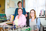 REFUGE: Staff of the ADAPT Kerry Women's Refuge in Tralee, front l-r: Anne Marie Foley (General Manager), Emma O'Mahony, with at back, Kate Hattar.    Copyright Kerry's Eye 2008