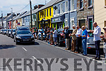 The Guard of Honour at Freddie Lynch's funeral outside of Freddies old home on Boherbue on Tuesday.