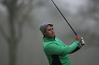 Charlie Denvir (Elm Park) during the first round of the Peter McEvoy Trophy played at Copt Heath Golf Club, Solihull, England. 11/04/2018.<br /> Picture: Golffile | Phil Inglis<br /> <br /> <br /> All photo usage must carry mandatory copyright credit (&copy; Golffile | Phil Inglis)